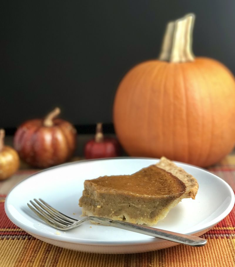 Dairy-Free Pumpkin Pie No Tofu