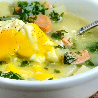 Potato Kale Sausage Soup