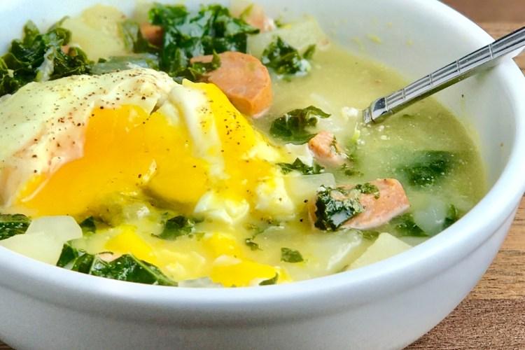 Potato Kale Sausage Soup