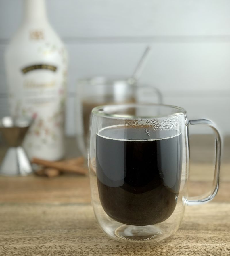 dairy-free baileys cream and coffee