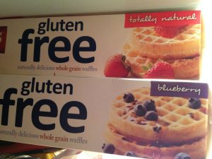 Whole Grain and Blueberry Waffles