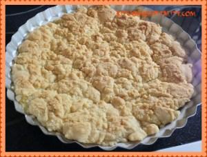 Baking fresh apricots