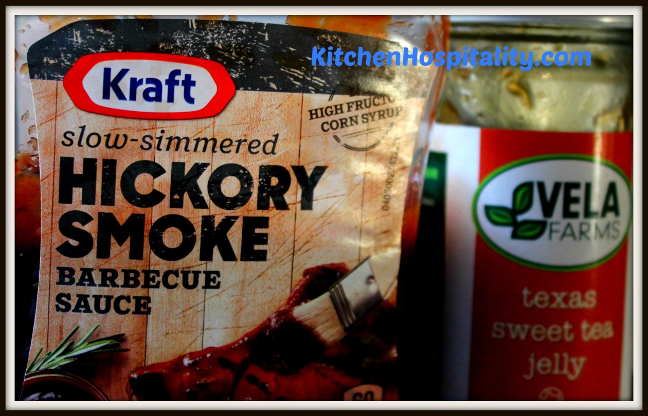 Barbecue and sweet tea sauce