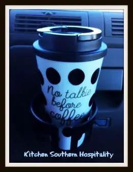 No Talkie Coffee Cup