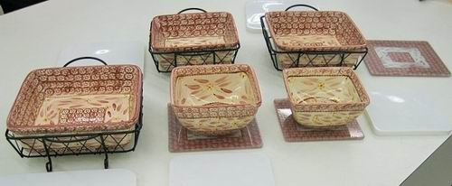 10 Pc Temp Tations Old World Bakeware