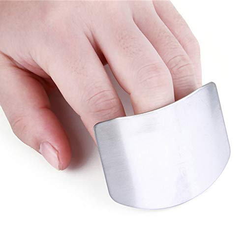 Finger Guard Protector Slicing Cutting Stainless Steel Chopping Cut Vegetable Kitchen Tool Gadget