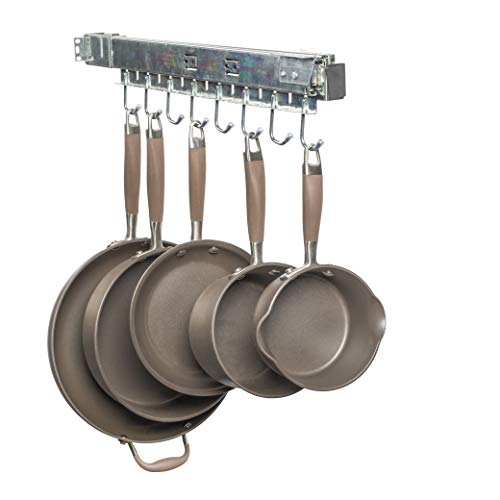 Good Cushion Pull Out Cabinet Pot Pan Organizer Holds A Complete Set Including Lids USA Patented Solid Steel with Soft Close Slide