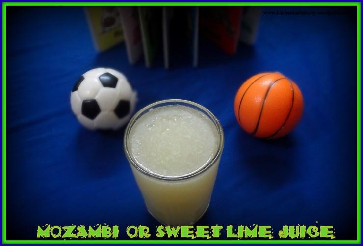 Mosambi/Sweet Lime/Saathukudi Juice