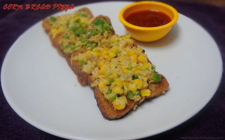 corn capsicum cheese sandwich