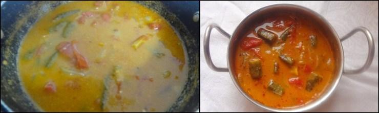 Ladies Finger Curry