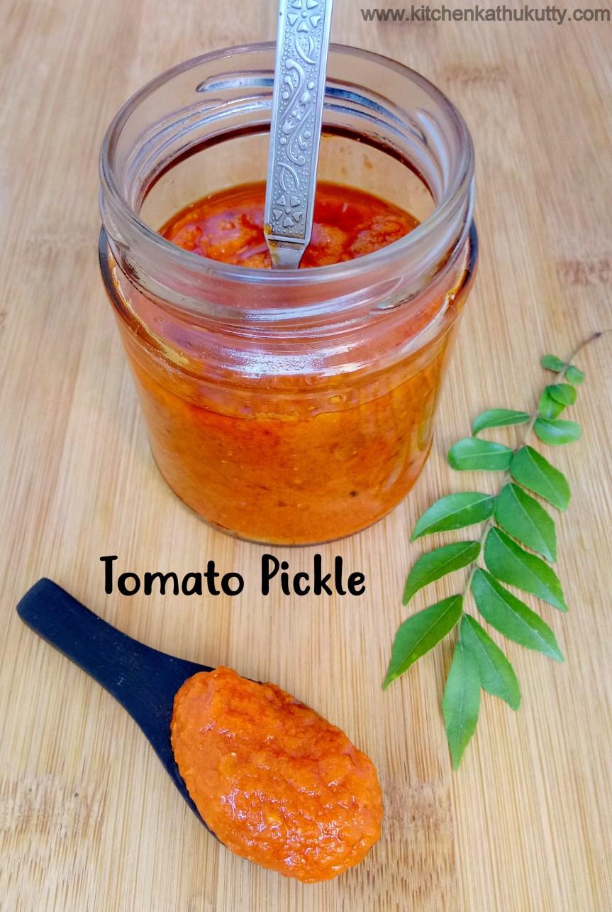Tomato Thokku Recipe/Thakkali Thokku Recipe