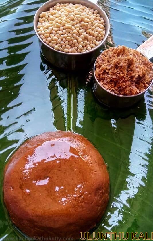 Ulundhu Kali-(உளுந்து களி -Tirunelveli Style )Urad Dhal Halwa