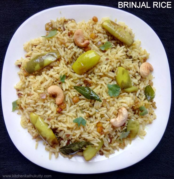 Vaangi Bath Brinjal Rice
