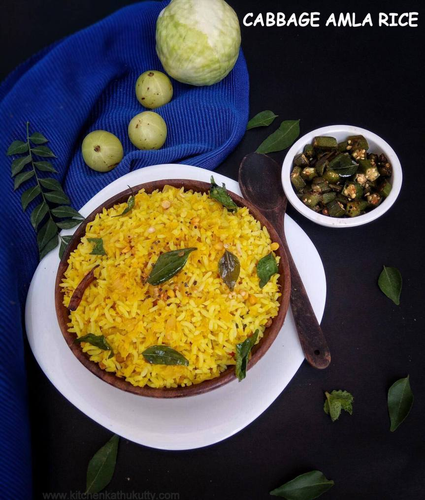 cabbage Amla Rice