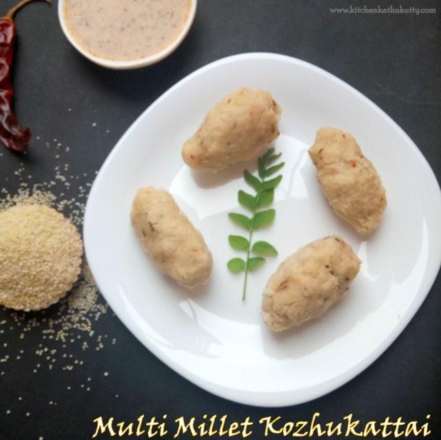 Multi Millet Kozhukattai