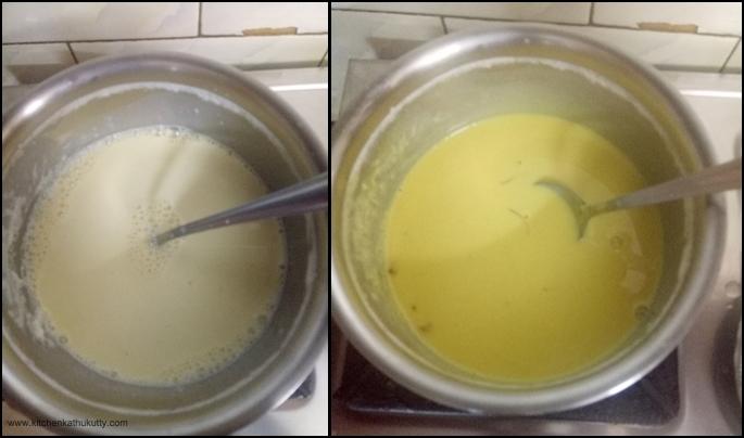Golden Milk Fruit Custard Recipe1