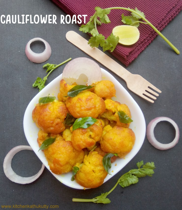 Cauliflower Fry or Gobi Fry Recipe