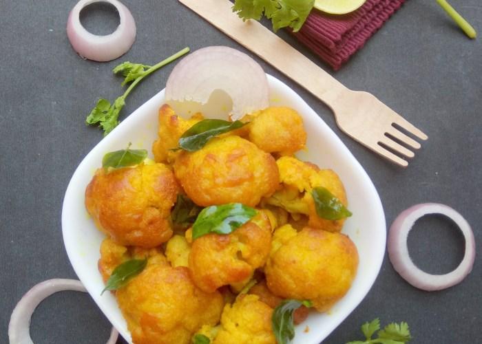 Cauliflower Fry or Gobi Fry Recipe
