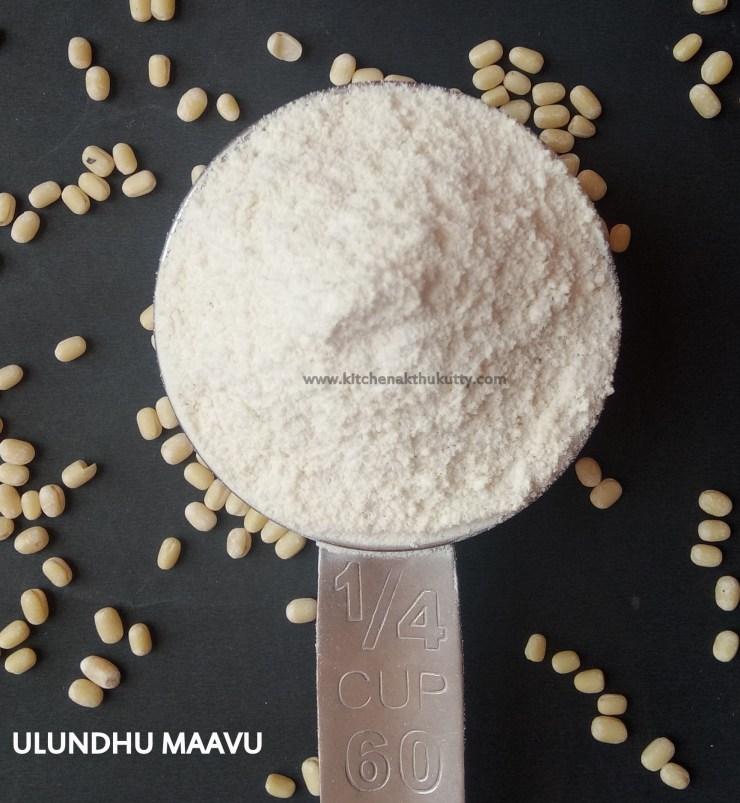 Homemade Urad Dhal FlourRecipe
