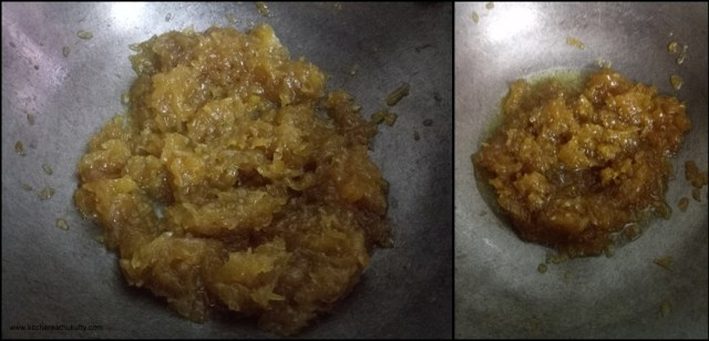 ashgourd halwa recipe with jaggery