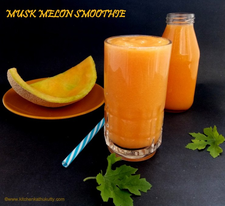 Musk Melon Smoothie For Kids