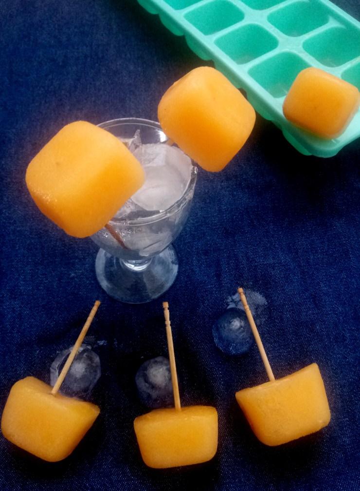 MUSK MELON ICE POPS RECIPE
