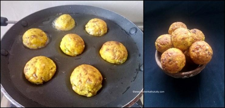 No Deep Fry Moong Lobia Vada Recipe