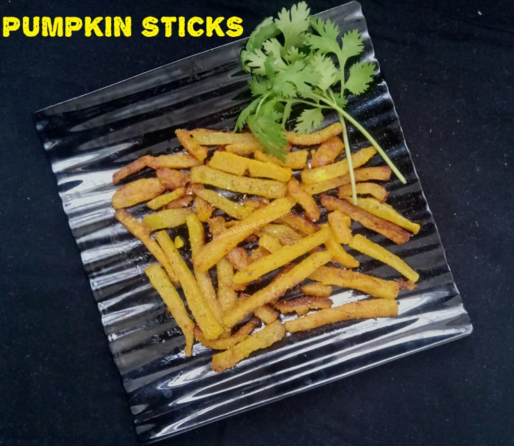 Pumpkin Sticks Recipe