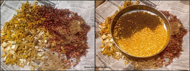 herbal bath powder recipe