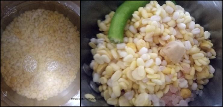 mixed dal mini bonda recipe