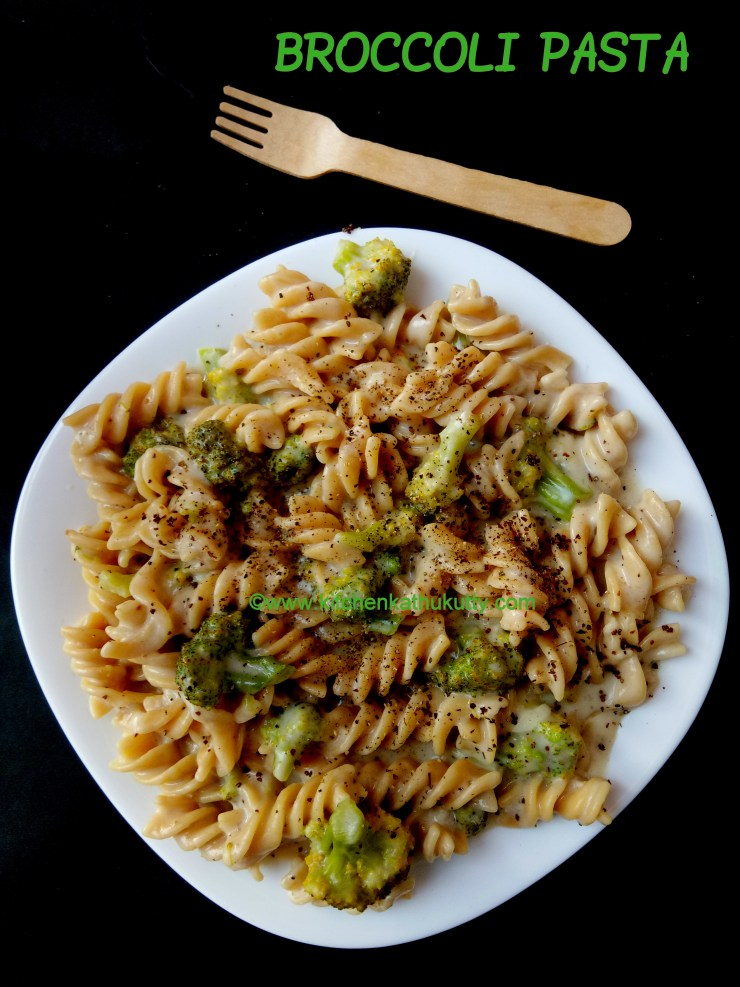 cheesy broccoli pasta