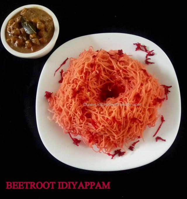 eetroot idiyappam recipe