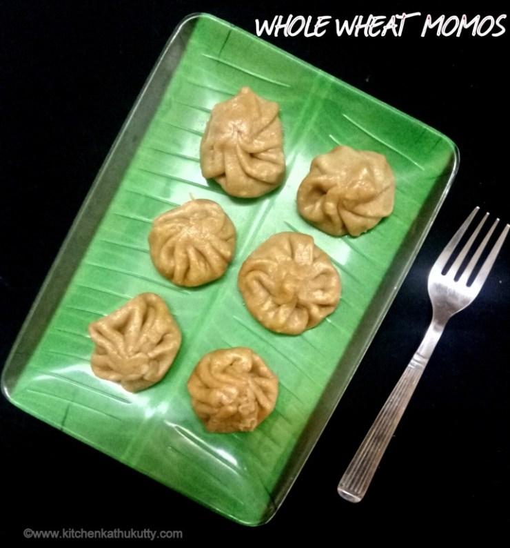 whole wheat momos recipe