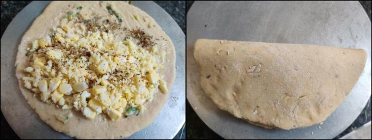Dominos Style Stuffed Garlic Bread Recipe