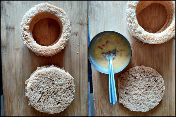 Veg Bread Disc Recipe