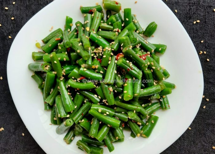honey chilly beans recipe