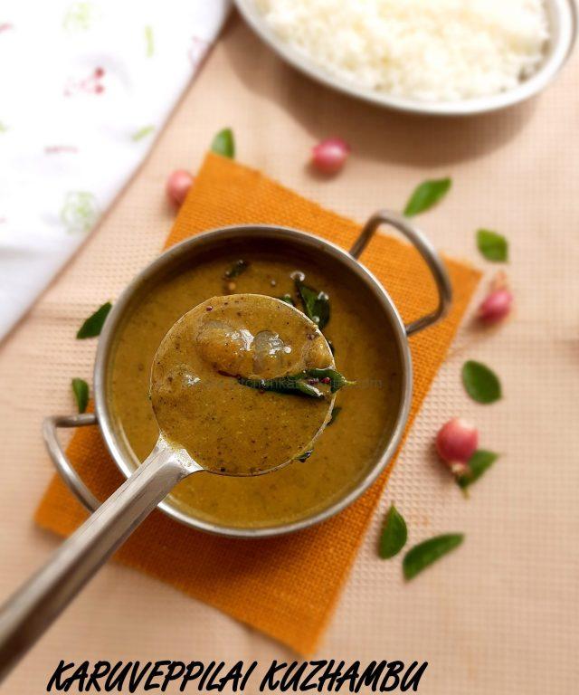 Karuveppilai Kuzhambu| Curry Leaves Gravy