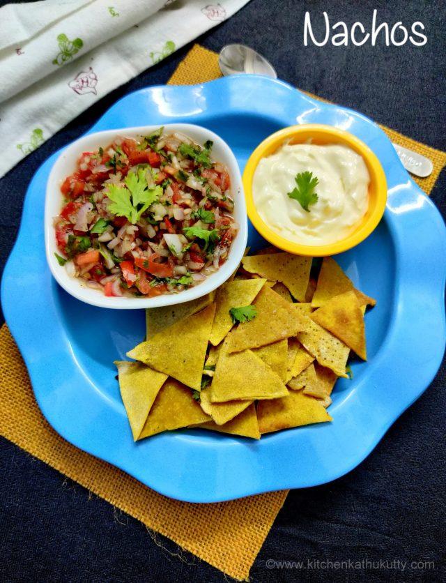 homemade nachos mexican style