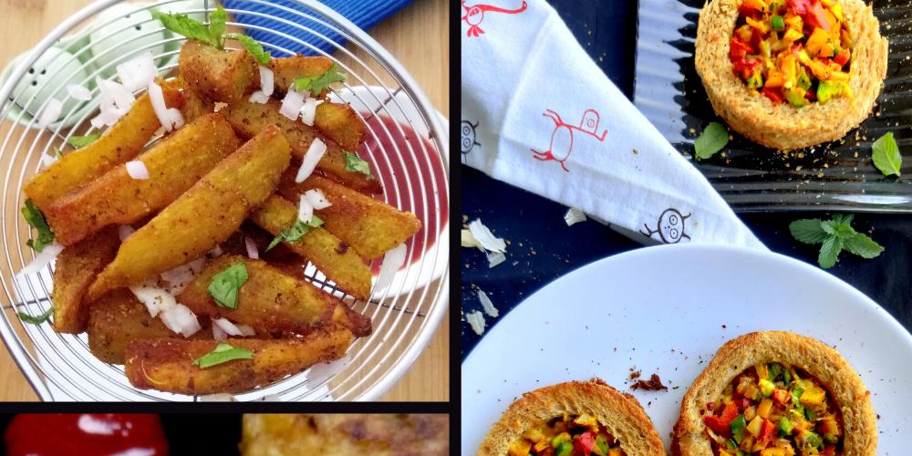 No Deep Fry Indian Snacks Recipes