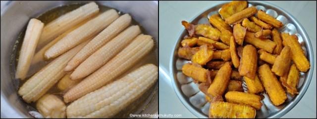 Honey Chilly Babycorn Recipe