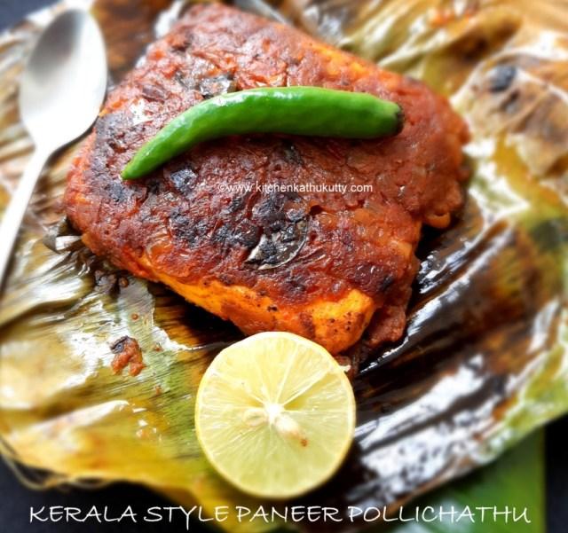 Kerala Style Paneer Pollichathu