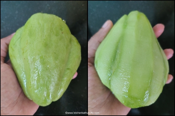 Chayote gothusu recipe