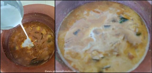 vazhaikkai paal curry recipe