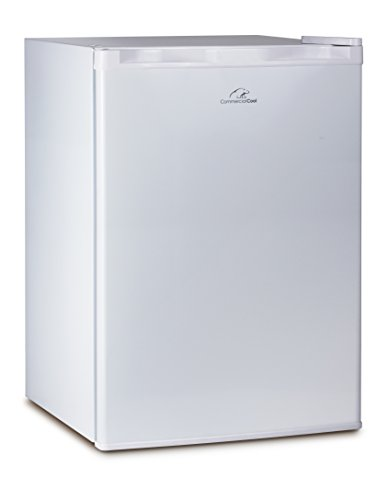 Commercial Cool CCR26W Compact Single Door Refrigerator and Freezer 26 Cu Ft Mini Fridge White