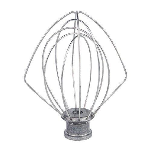 K45WW Wire Whip Attachment for Tilt-Head Stand Mixer for KitchenAid Stainless Steel Egg Cream Stirrer Flour Cake Balloon Whisk
