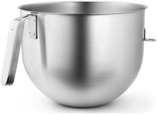KitchenAid Stainless Steel 7 Quart Mixer Bowl with J Hook Handle