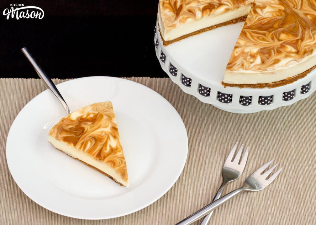 The Best No Bake Biscoff Cheesecake