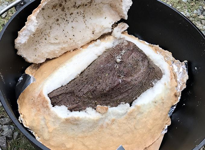Tondemo Isekai – 200 – Bloody Horn Bull Shiogama Yaki or Salt Crusted Bloody Horn Bull