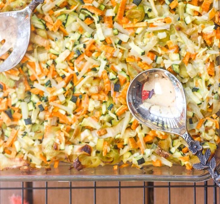 Paleo Vegetable Kugel