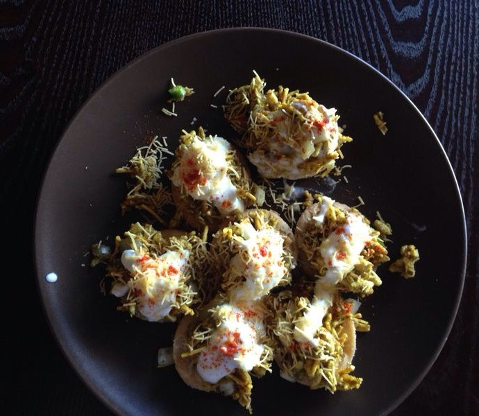 Chaat hors d'oeuvres